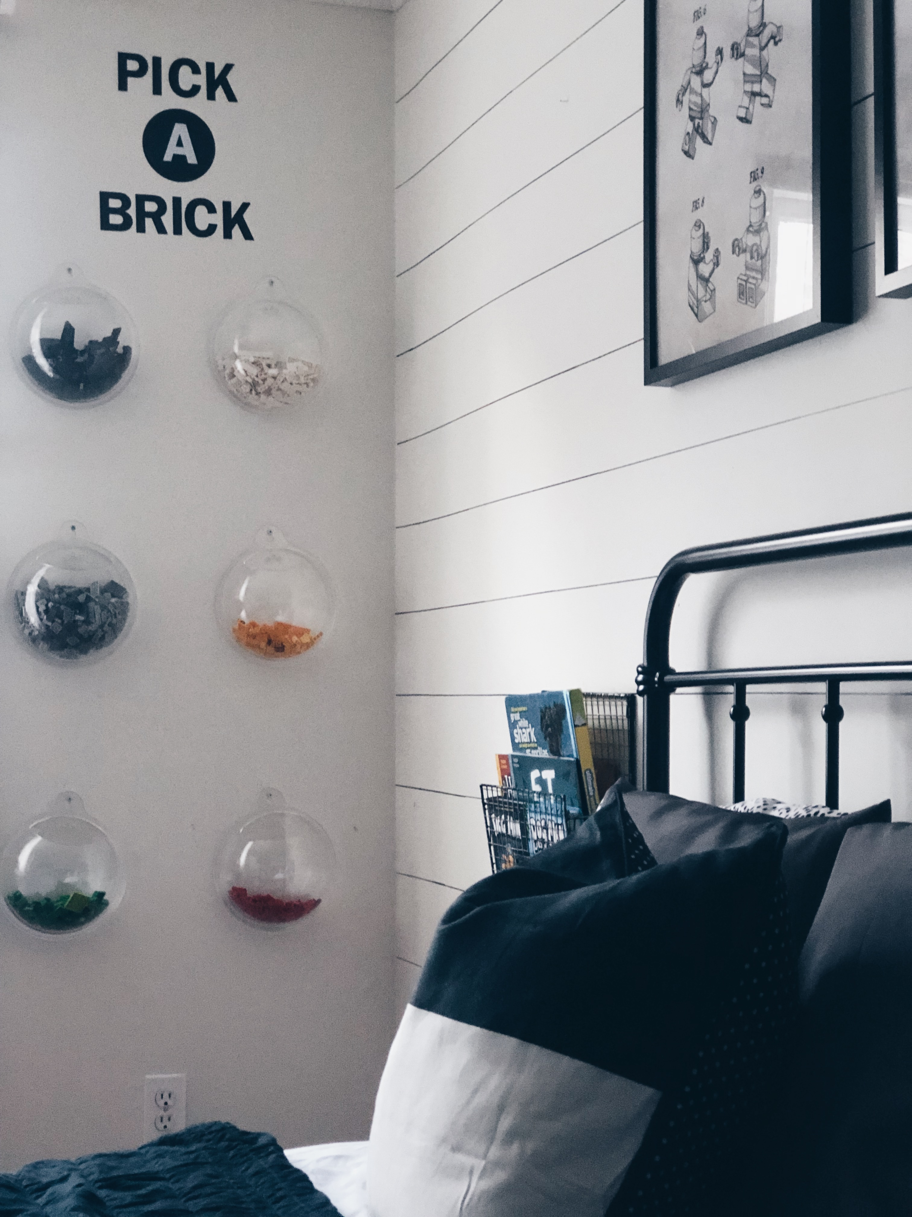 Lego pick a brick wall