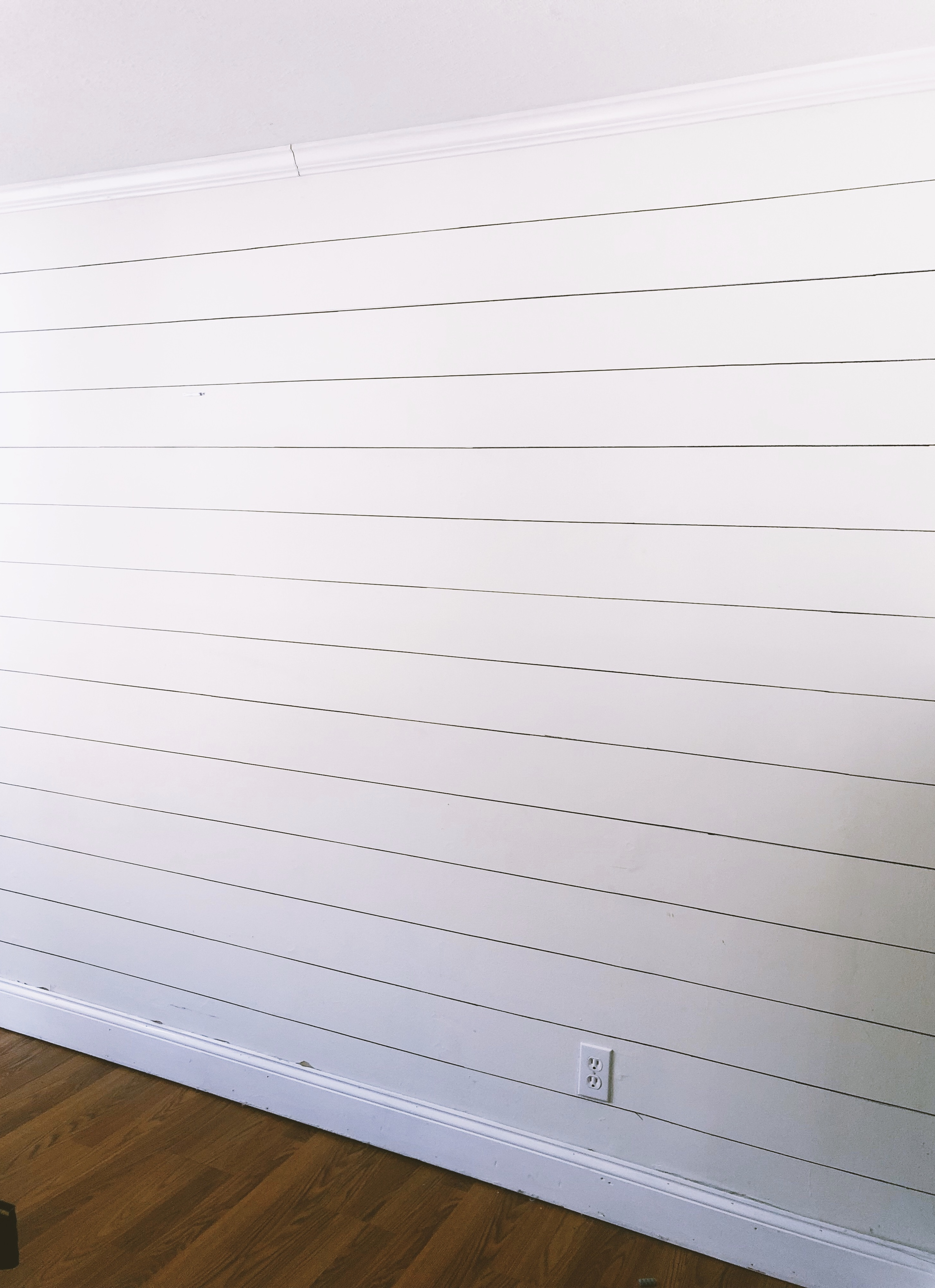 Sharpie Shiplap Wall