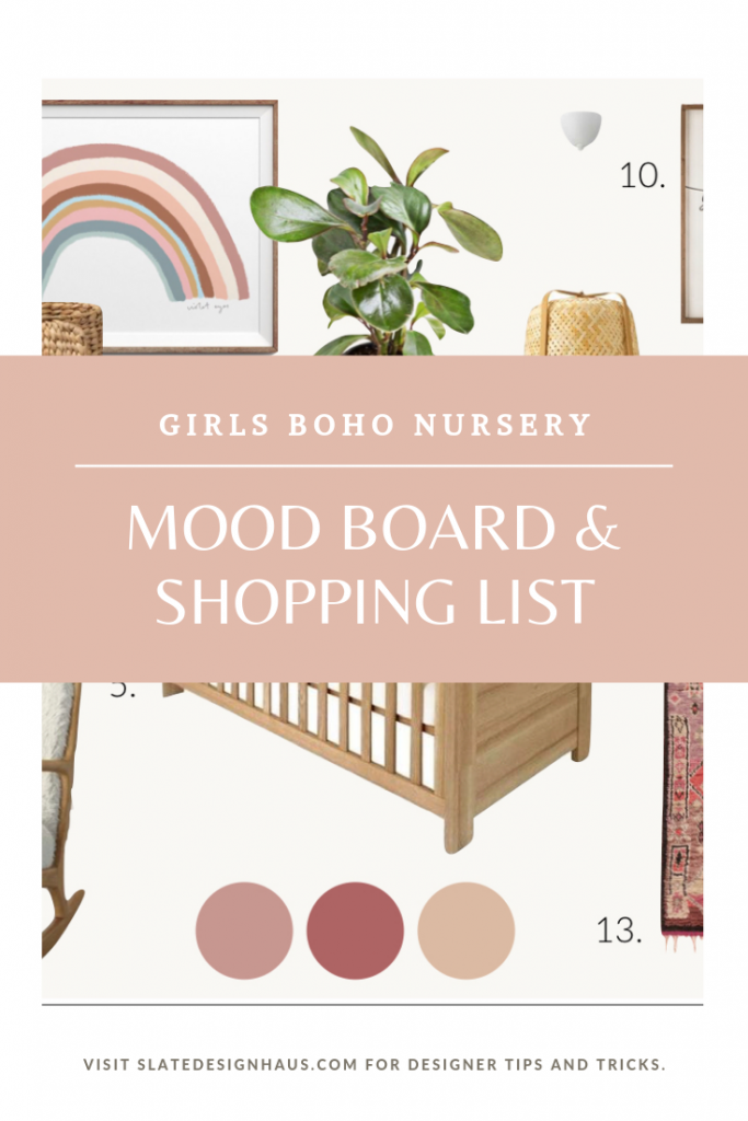 GIRLS BOHO NURSERY