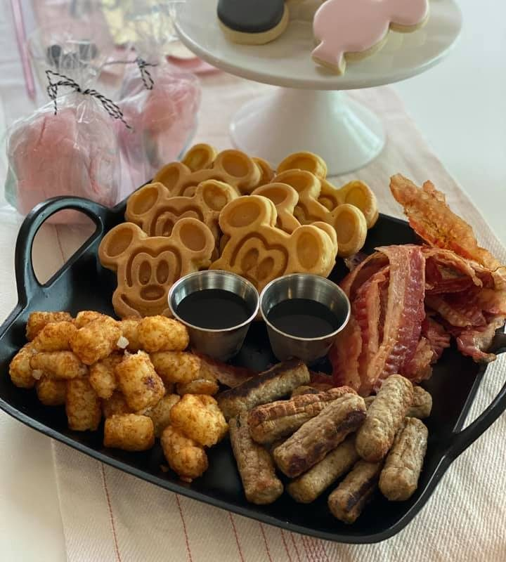 Disney Themed Graduation Breakfast